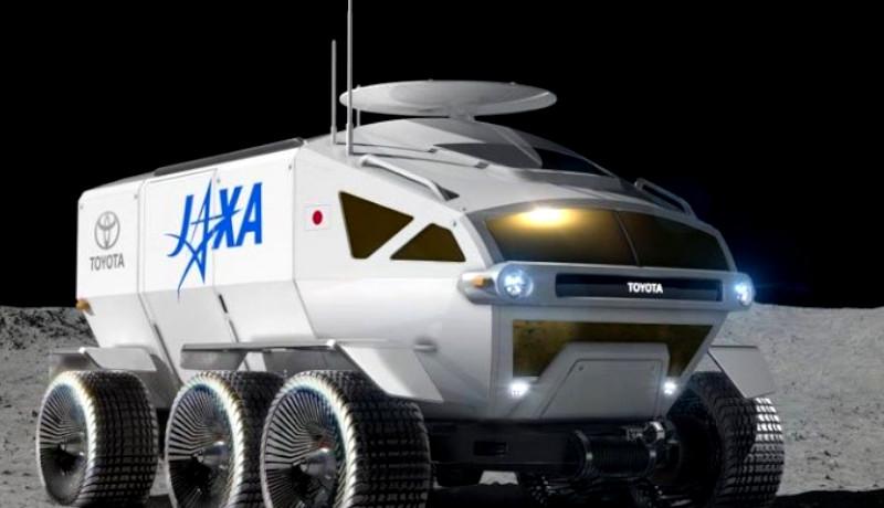 Toyota rover del espacio